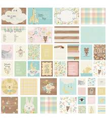 Simple Stories Sn P Oh Baby Card Pack