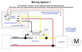 digital volt amp meter wiring diagram shahsramblings com 12 Volt Ammeter Wiring-Diagram at Amp Meter Shunt Wiring Diagram