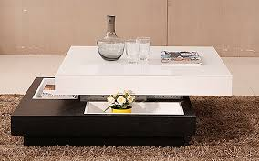 royaloak brio coffee table with high gloss finish