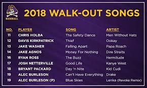 Dangerous by ying yang twins (kylee lahners). Ecu Baseball On Twitter For Those Of You Asking About Everyone S Walk Out Songs This Year Here Is All Of Them