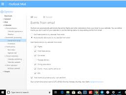 Stop Outlook From Automatically Adding Calendar Events From Emails