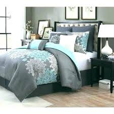 blue grey comforter set gray bed bedding crib within and sets s interior decorating blue and gray