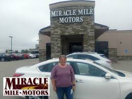 i would highly remend miracle mile motors i had been looking for a diffe car for several months now and came across this clean car with low miles