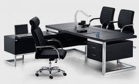 black office table. panther black series executive desk office table