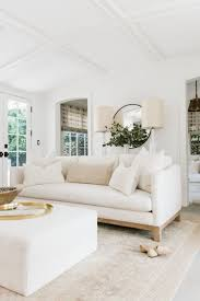 White couch living room ideas Leather Sofa Erin Fetherstons California Home Pinterest Erins Feature On Riptan  Pinterest