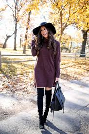 Best 25+ Sweater over dress ideas on Pinterest | Winter sweater ...