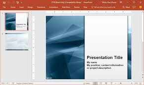Creating Powerpoint Templates Create Excellent Presentations With Free Powerpoint Templates