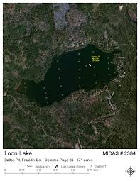 Loon Lake Depth Chart Lakes Of Maine Lake Overview Loon Lake Dallas Plt