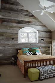 25 Awesome Bedrooms With Reclaimed Wood Walls - HD Wallpapers