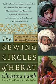 khaled hosseini s favorite books the sewing circles of herat by christina lamb