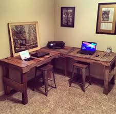 office desk europalets endsdiy. L-Shaped Desk Made From Reclaimed Pallets By WhiteLumber On Etsy You Can Purchase Office Europalets Endsdiy E