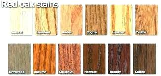 Floor Stain Color Chart Modern Stain Colors Woodprofits Co