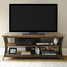 steve silver company collison tv cabinet with integrated tv mount