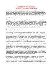 Jollibee Food Corporation Organizational Chart Jollibee Presentation Jollibee Food Corporation Jollibee
