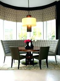 curved settee bench. Contemporary Settee Curved Dining Settee Upholstered Banquette Bench  Small Images Of Room   And Curved Settee Bench D