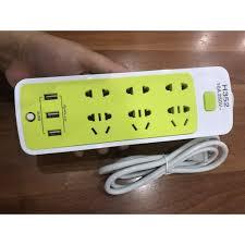Giá bán Ổ Điện Đa Năng Chống Giật 3 Cổng USB Và 6 Ổ Cắm - SIÊU RẺ