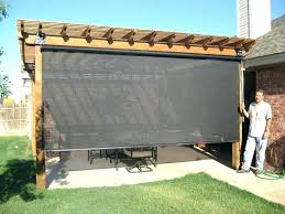 backyard patio shade ideas privacy screen for deck railing best outdoor patio shades ideas on shade