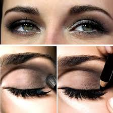 you have small eyes as they will appear even smaller use a white eyeliner instead as this will help brighten up your eyeake them appear larger