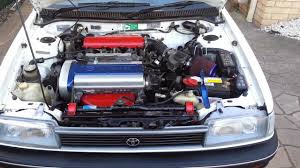 AE94 Toyota Corolla 4AGE 20V Silvertop - Engine clicking sound - YouTube