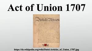 Image result for The Act of Union