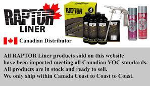Raptor Liner Color Chart Raptor Liner Canada Home