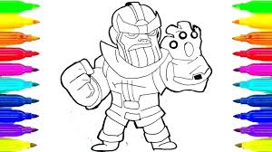 Infinity War Coloring Page Pages Online Free Disney Printable 5 Omark