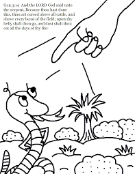 Small Picture Adam and Eve Coloring Pages Sunday School WorksheetsActivities