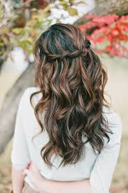 half up half down wedding hairstyles magazine wedding Wedding Hairstyles Up Or Down the hair style should be selected that it suits the face the style should be such that the bride should feel comfortable whether it is pulled up or down wedding hair up or down