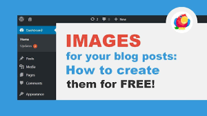 How To Creat How To Create Images For Blog Posts With Canva For Free Youtube