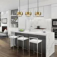 suspended kitchen lighting over table