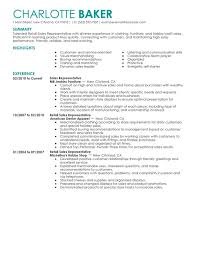 Rep Retail Sales Resume Examples Free To Try Today Myperfectresume