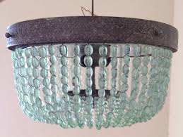 turquoise lighting. turquoise light fixture memorable aqua beaded lighting chandelier by blithehome decorating ideas
