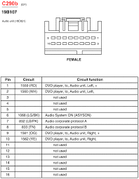 ford taurus wiring diagram stereo wiring diagram 1997 ford explorer radio wiring harness diagram