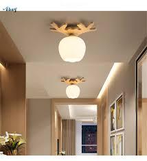Großhandel Art Deco Holz Geweih Acryl Deckenleuchten Für Küche Wohnzimmer Esszimmer Lichter Decke Dekoration Stil Loft Led Lampe Von Youerlamp 1053