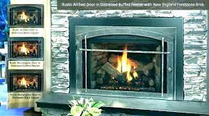 replace fireplace glass how