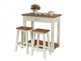 Table And Stools For Kitchen Tutbury Cream Painted Oak Breakfast Table Kitchen Stool Set