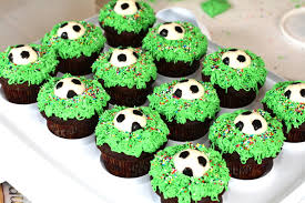 Soccer Ball Decorations For Cupcakes