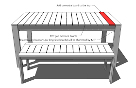 wooden outdoor table plans dining table ana white ana white simple outdoor dining table diy projects