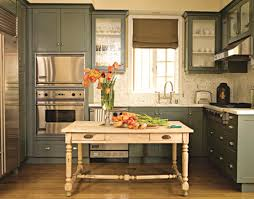 green painted kitchen cabinets. Chad_eisner Green Painted Kitchen Cabinets O