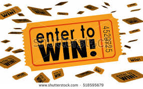 raffle sign enter win contest raffle lottery ticket stock illustration 518595679