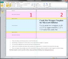 019 Free Candy Wrapper Template Staggering Ideas Blank Bar