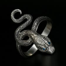 rings collection covetous silver serpent ring men s