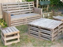 outdoor pallet furniture ideas making