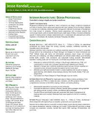 architect resume format free interior design resume templates resume samples