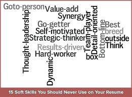 Resume Keywords List 40 To Use On Soft Skills Avoid In Awesome Soft Skills Resume