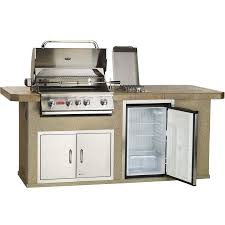 Bull Outdoor Products FAST SHIP Outdoor Kitchen With Burner - Bull outdoor kitchen