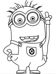 Small Picture Minion Coloring Pages 3564 Bestofcoloringcom