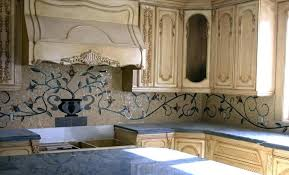 Tile Backsplash Photos Beauteous Glass Tile Mural In Kitchen Backsplash Murals Metal Novape