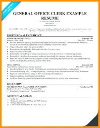 Office Clerk Resume Nmdnconference Com Example Resume And Cover