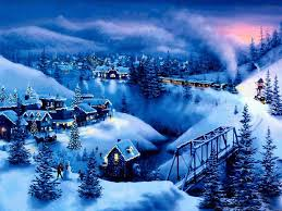 Christmas Scenes Free Downloads Free Christmas Scenes Wallpapers Wallpaper Cave